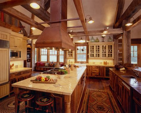 Ranch Home Interiors by Western Homestead Ranch Kitchen Rustic Kitchen