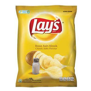 Lays Asin Klasik smoked beef keripik pisang dari zanana chips indonesia review makanan ringan tryandreview