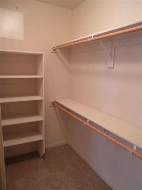 Where To Buy Closet Shelving by Best Build A Closet Shelf And Rod Roselawnlutheran Closet