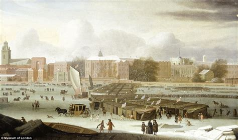 thames river frozen paintings and memorabilia of the thames frost fairs