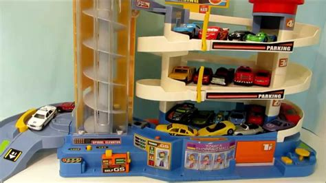 Tomica Auto Parking Garage by Tomica Auto Parking Garage Playset Takara Tomy With