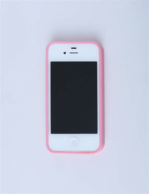 Iphone 4 4s Iphone 4 4s Dotted Silicon Pink 187 Eli