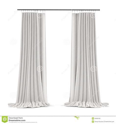 weisser vorhang wei 223 er grauer vorhang stockfoto bild 35609160
