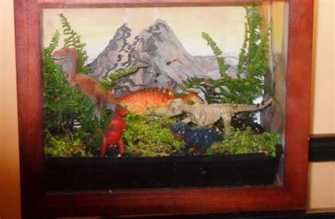 dinosaurs diorama background images creative terrarium making