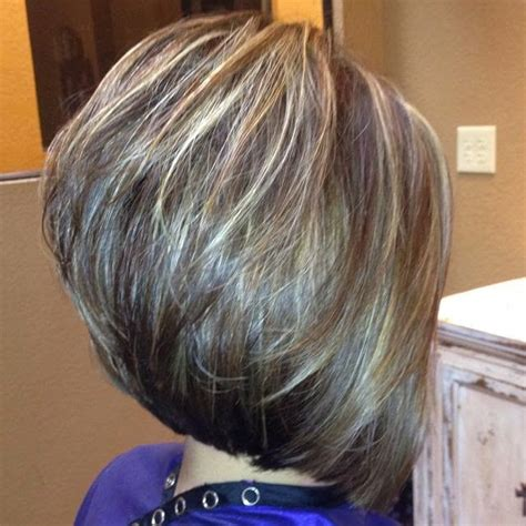 diy stacked bob haircut these gray hairs have no chance when they come up against