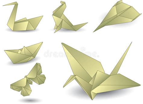 origami objects origami objects origami objects origami objects royalty
