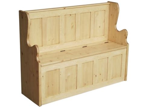 storage bench seat with coat rack 4ft solid pine monks bench shoe storage seating settle