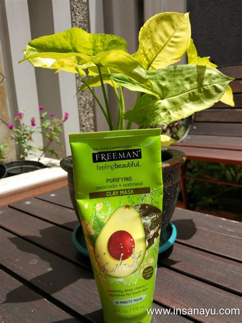 Freeman Mask Murah review freeman purifying avocado oatmeal clay mask kimi s akademos
