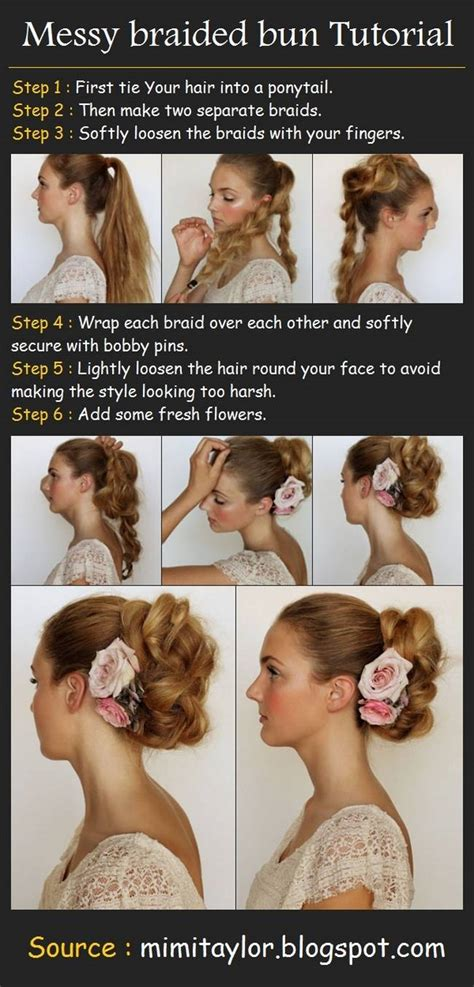 20 clever and interesting tutorials for your hairstyle 20 amazing step by step bun hairstyles