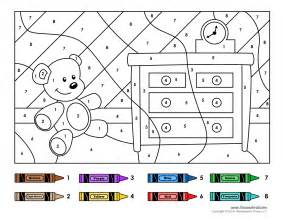 color by number worksheets free color by numbers 1 tim de vall