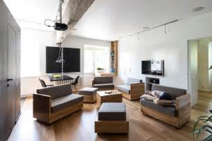 Living Room Modular Furniture Amazingly Modular Small Family Apartment With Lots Of