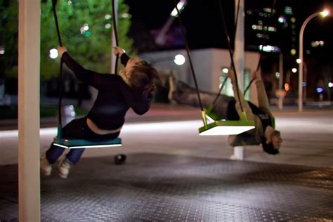 Musical Light Swings On The Streets Of Montreal Colossal