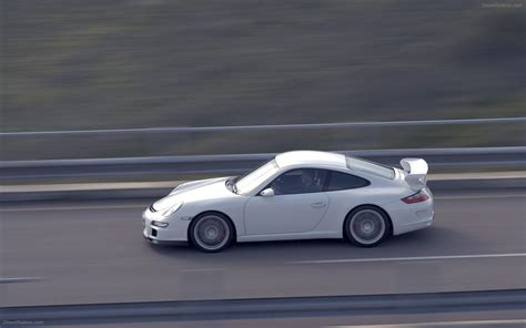 Porsche 911 Gt3 2007 by Porsche 911 Gt3 2007 Widescreen Exotic Car Image 10 Of 26