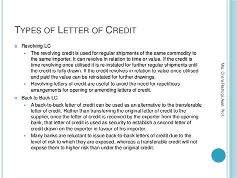 Letter Of Credit Trade Finance international trade finance letter of credit docoments