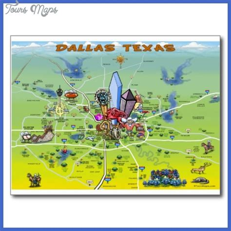 attractions in map maps update 700737 dallas tourist attractions map 10
