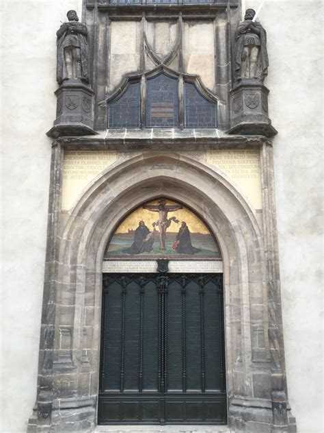Wittenberg Door by Wittenberg Here We Are Messiah Lutheran Church