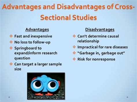 Advantages Of Cross Sectional Study comparing research designs fw 2013 handout version