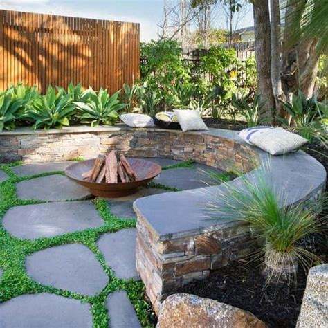 top   fire pit landscaping ideas backyard designs