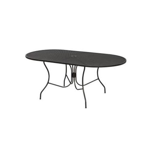Home Depot Patio Dining Table by Arlington House Jackson Oval Patio Dining Table 3872200