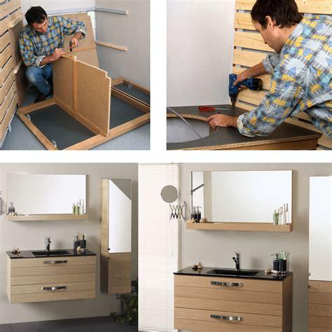 comment fabriquer soi meme  meuble pour le lavabo bricobistro
