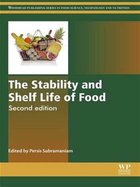 The Shelf Technology by Woodhead Publishing In Food Science Technology And