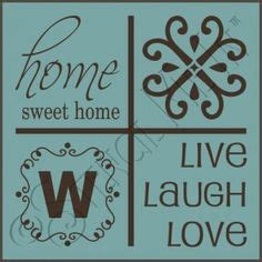 home stencil pinterest the world s catalog of ideas