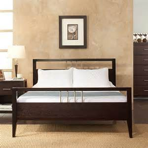 California King Headboard And Footboard Nevis California King Platform Bed With Headboard And Footboard Espresso Furniture Walmart