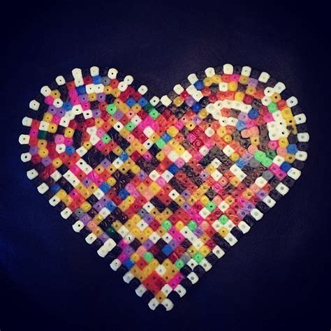 melty bead designs colorful hama by ladybugnina melty