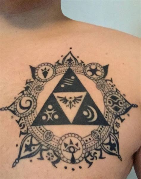 triforce tattoo tattoo ideas pinterest tattoo zelda