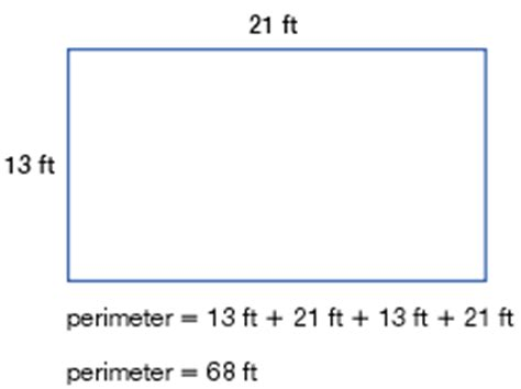 how to calculate perimeter grade 4 measurement overview