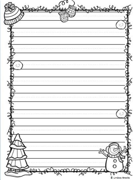 Printable January Writing Paper | 207 best images about μπορντουρεσ on pinterest clip art