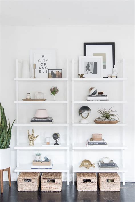 best 25 white bookshelves ideas on living