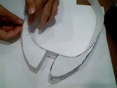 How To Make A Paper Halo Helmet - how to make halo helmet without pepakura part 2