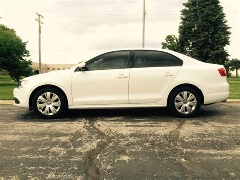 volkswagen jetta white interior 2014 volkswagen jetta se 1 8 white with black leather