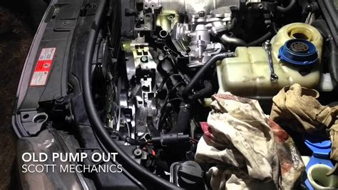 service manual electric power steering 2009 audi q7 interior lighting used audi q7 3 0 tdi audi a4 noisy power steering pump replaced by scott mechanics youtube