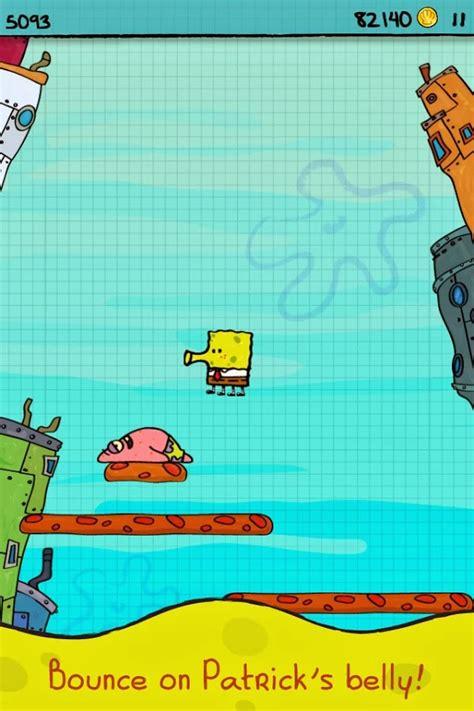 doodle jump bob esponja apk apkola doodle jump spongebob v1 0 apk mod dinero