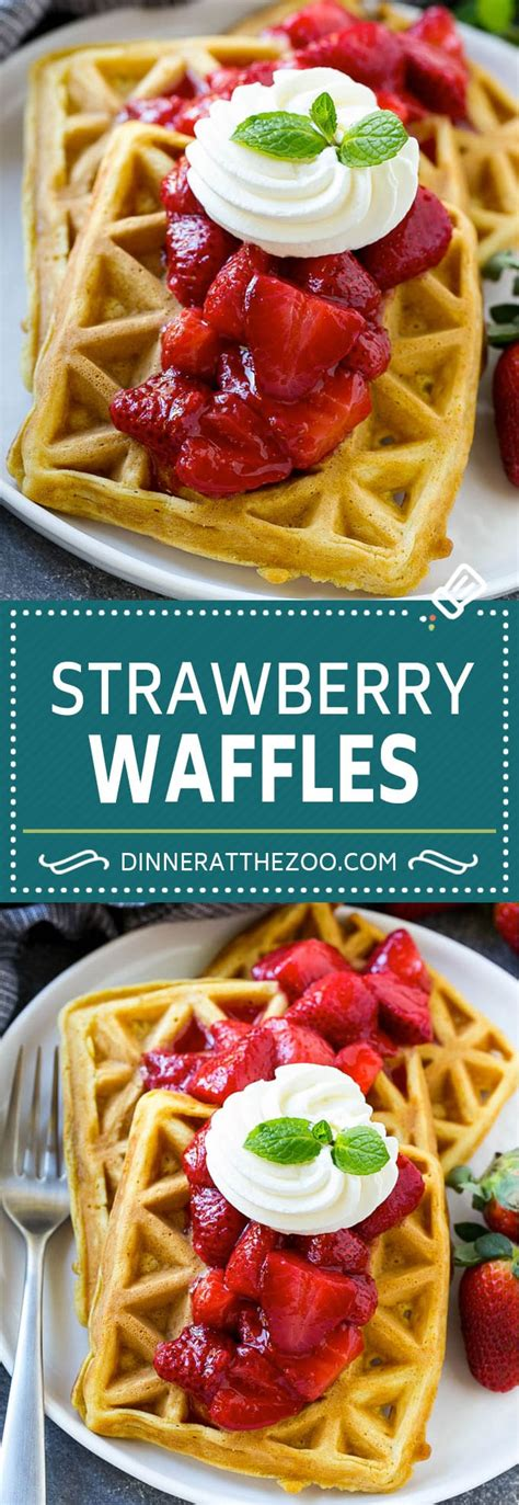 strawberry sauce recipe for waffles strawberry waffles dinner at the zoo