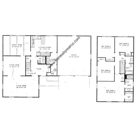 levitt homes floor plan roxbury model in the strathmore subdivision in buffalo