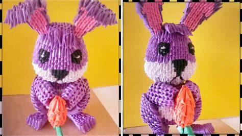 3d origami rabbit tutorial 17 best images about origami on pinterest origami paper