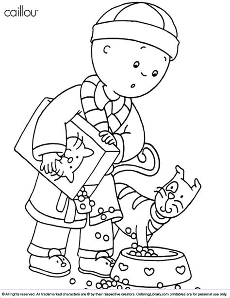 free printable coloring pages einsteins caillou coloring picture