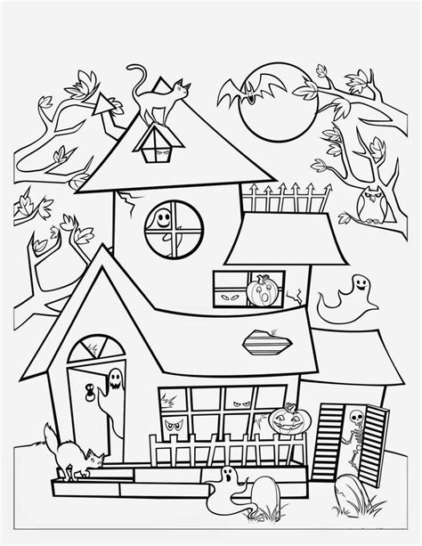 haunted house coloring pages the lorax coloring pages coloring pages