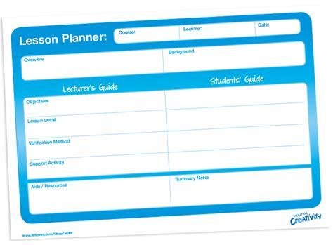 lesson plan template higher education fellowes idea centre ideas for school classroom