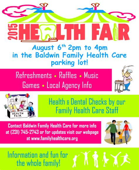 8 Best Photos Of Family Health Fair Flyers Health And Wellness Event Flyer Health Fair Flyer Health And Wellness Flyer Template