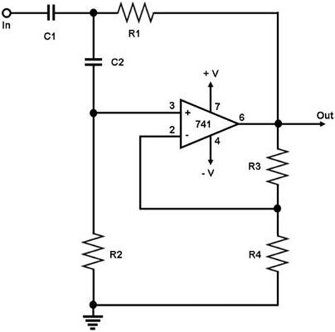 high pass filter circuit electronic projects