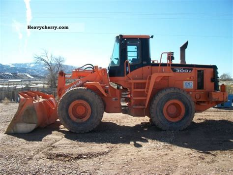 daewoo mega 300 v 2006 wheeled loader construction