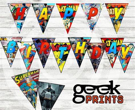 printable superman banner printable superman birthday banner for best free