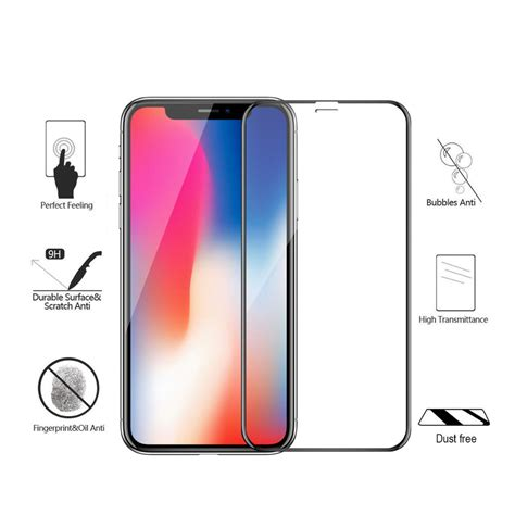 dust proof tempered glass iphone x starelabs india