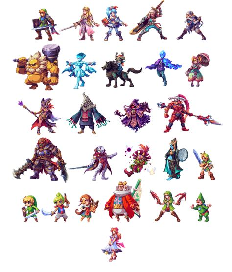 hyrule warriors all stars update by abysswolf on deviantart