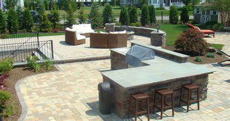 New Patio Designs Custom Patio Design Built Island Ny Brick