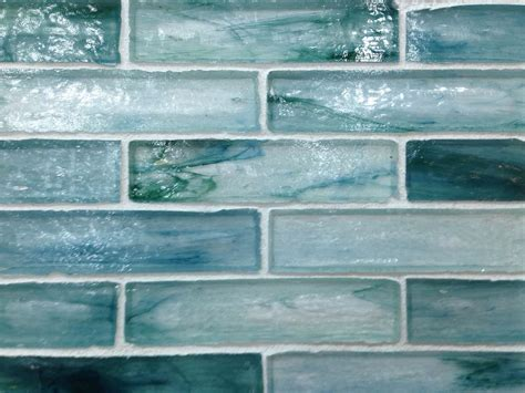 Teal Backsplash Kitchen Backsplashes Pinterest Teal Turquoise Backsplash Tile